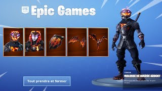 PROCHAIN EVENT ON FORTNITE! (PACK SKINS LAVE AND BUNKER)