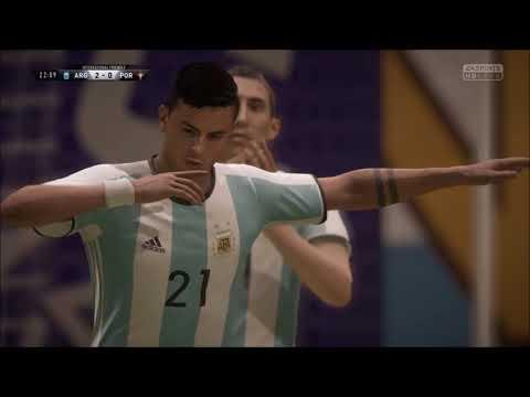 FIFA 18 - Custom Tactics - Marcelo Bielsa's 3-3-1-3 (With Gameplay)