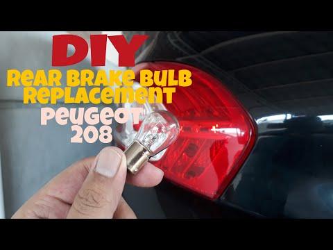 [DIY] PEUGEOT 208 BRAKE BULB REPLACEMENT