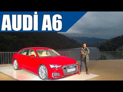 2018 Yeni Audi A6   Dünyadaki İlk Test