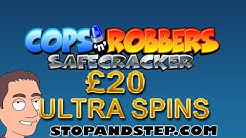 Cops and Robbers Slot Machine £20 Spins with Free Spins and Chase Bonus
