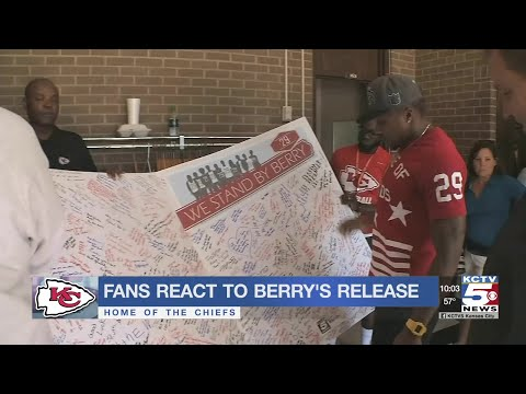 Fans react to the release of Eric Berry