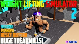 ROBLOX Weight Lifting Simulator 2 #1 di tap the duc buoi sang XD