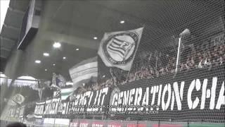 SK Sturm Graz-SK Rapid Wien 2015/16 (Support Brigata Graz, Block West, Ostkurve, Pyroshow)