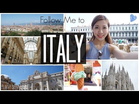 Follow Mel⎜My Trip to Italy ❤ Vatican City, Rome, Gondola ride, Gelato & Shopping at Milan!