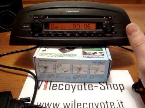 Tutorial installazione interfaccia aux usb yatour su radio - Autoradio lancia ypsilon porta usb ...