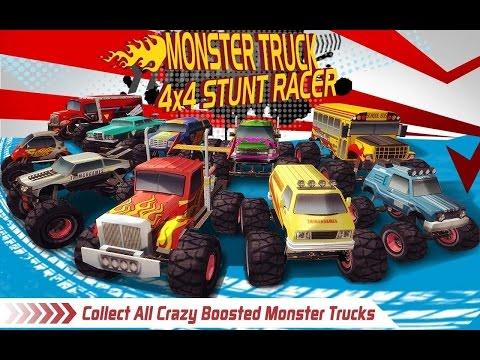Monster Truck 4x4 Stunt Racer