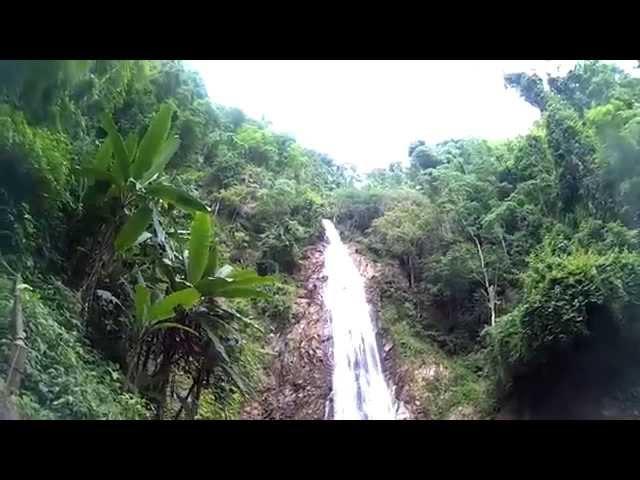 תאילנד מפלי קון קורן ירידה למים תענוג THAILAND Chiang Rai KHUN KORN Falls