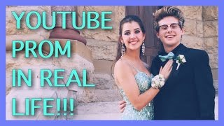 YouTube Prom In Real Life    Ft. Mikey Murphy