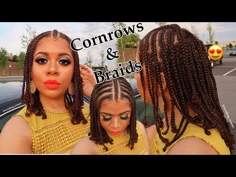 braids-cornrows-protective-style-including-night-time-care-|-natural-hair-styles
