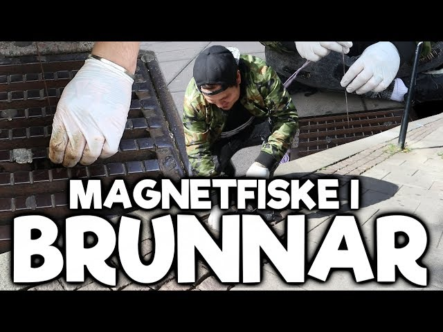 MAGNETFISKE I GATUBRUNNAR - NEXT LEVEL MAGNETFISKE