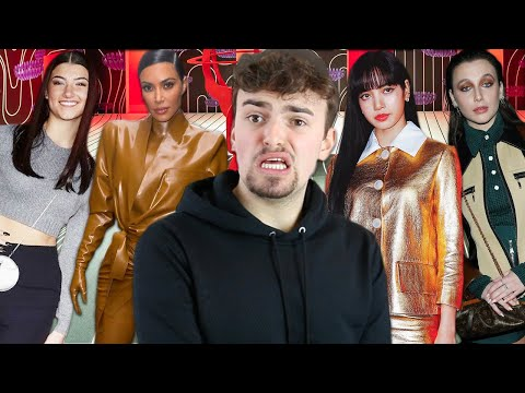 FASHION WEEK CELEBRITY ROAST 2020 (who dressed charli d'amelio and emma chamberlain like that??)