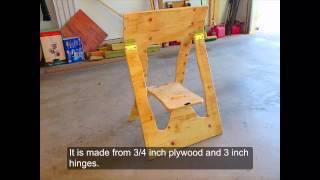 Folding Sawhorse