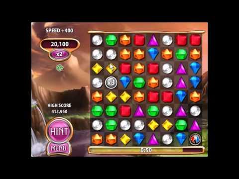 Bejeweled Blitz Tips:  Tetrevsky Technique