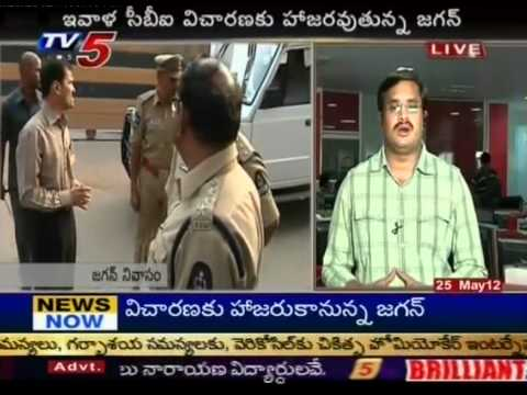 Jagan Case Updates Live(TV5)