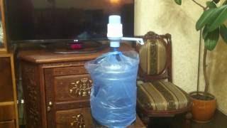 Водяная помпа и бутылка для кулера(, 2016-05-28T21:07:46.000Z)