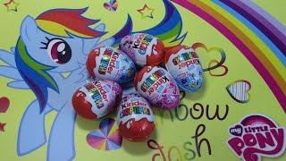 Новинка! Киндер Сюрприз Май Литл Пони MLP NEW!! Kinder Surprise My Little Pony