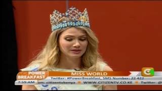 Power Breakfast : One on One With Miss World