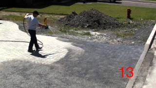 How to apply Techniseal Polymeric Jointing Sand for pavers