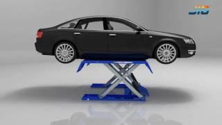 low rise scissors car Lift SLS106_Product Show-JIG
