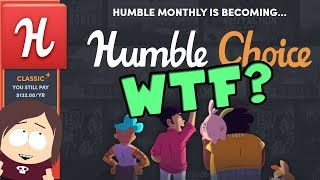Big Humble Monthly Change - Humble Choice - Steam Halloween Sale