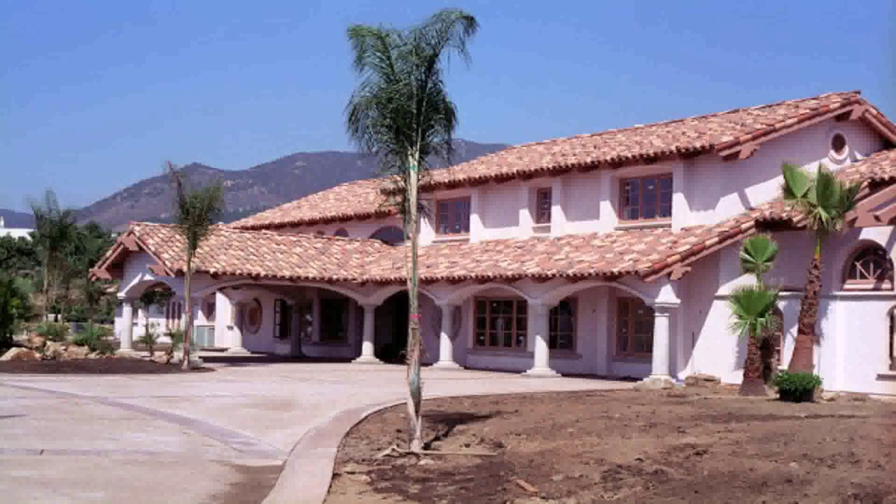 Spanish House Designs Styles   YouTube