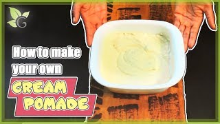 How to Make Your Own Hair Cream Pomade Thumbnail