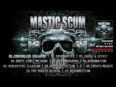 "MASTIC SCUM - ""C T R L"" Track by Track Preview [Massacre Records]"