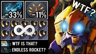 CRAZY -44% MANALOSS ENDLESS ROCKET Spam Trident Tinker Def vs Illusion Team 7.23 Intense Dota 2