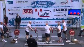 World Classic Powerlifting Championships 2015 - Men Open, 83 kg