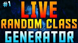 *LIVE* Random Class Generator #1 | Dual Comm w/ Sno (CoD: Ghosts Gameplay)