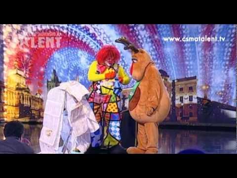 Albertíkova báječná šou | Česko Slovensko má talent 2011
