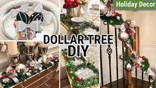 Dollar Tree Christmas DIYS 2018   DIY Holiday Home Decor Ideas