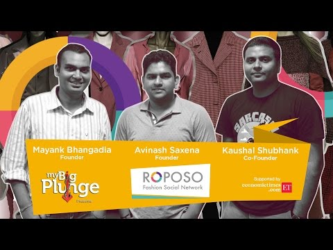 Founders of Fashion Social Network 'Roposo' on My Big Plunge | powered by Economic Times