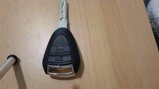 Porsche Cayman Boxster Key Replacement Battery Austausch Der Batterie