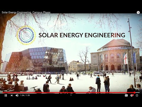 Solar Energy Engineering. Campus Phase Spring 2019