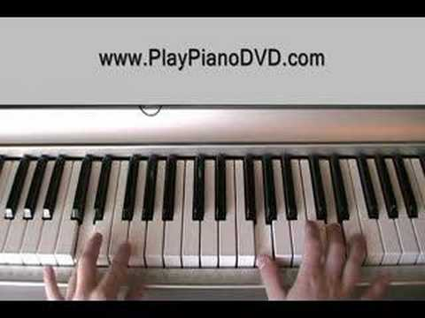 How To Play When You're Gone By Avril Lavigne On Piano Part1