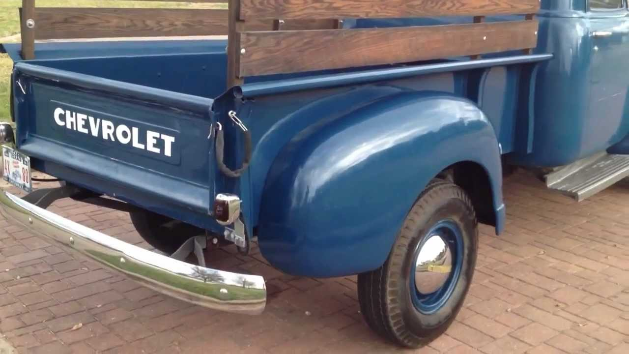 1947 chevrolet 3 4 ton truck youtube. Black Bedroom Furniture Sets. Home Design Ideas