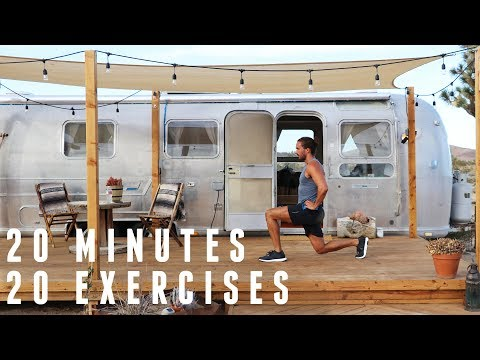 Full Body Fat Burning Workout | 20 Minutes 20 Exercises | The Body Coach
