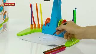 Наборы для рисования: «Обучающий проектор для рисования»  Дующие фломастеры «Рисуем динозавров»
