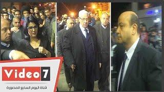 عمرو أديب ومنى الشاذلى وعبد الحليم قنديل ومكرم محمد أحمد بعزاء هيكل