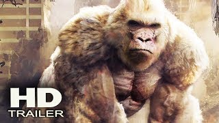 RАMPАGE - 5 Minutes MINI MOVIE 2018 (Dwayne Johnson) Monster Action Movie