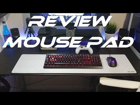 66227be7cbf JTG REVIEW - WHITE GLORIOUS PC GAMING MOUSE PAD PART 2 - YouTube