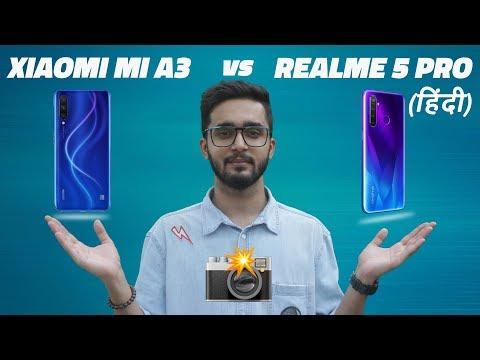 Mi A3 vs Realme 5 Pro Camera Comparison: Which is Best