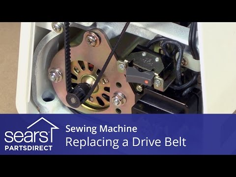 How to Replace a Sewing Machine Drive Belt