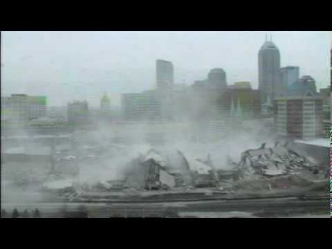 RCA Dome implosion (Raw video)