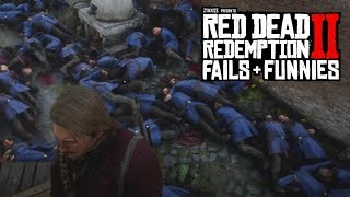 Red Dead Redemption 2 - Fails & Funnies #27