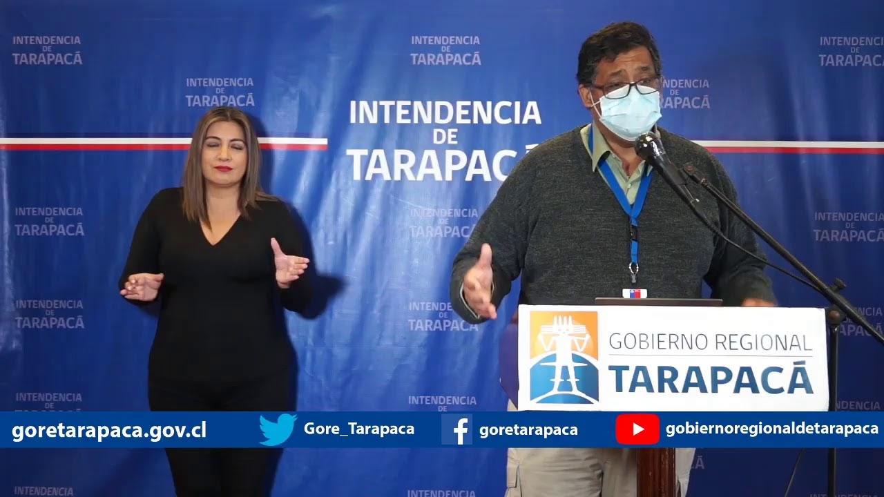 Punto de prensa 16 de julio de 2020 - Gobierno Regional de Tarapacá