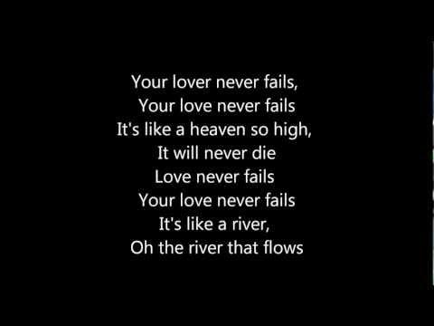 Jonathan Butler - Love Never Fails (With Lyrics)