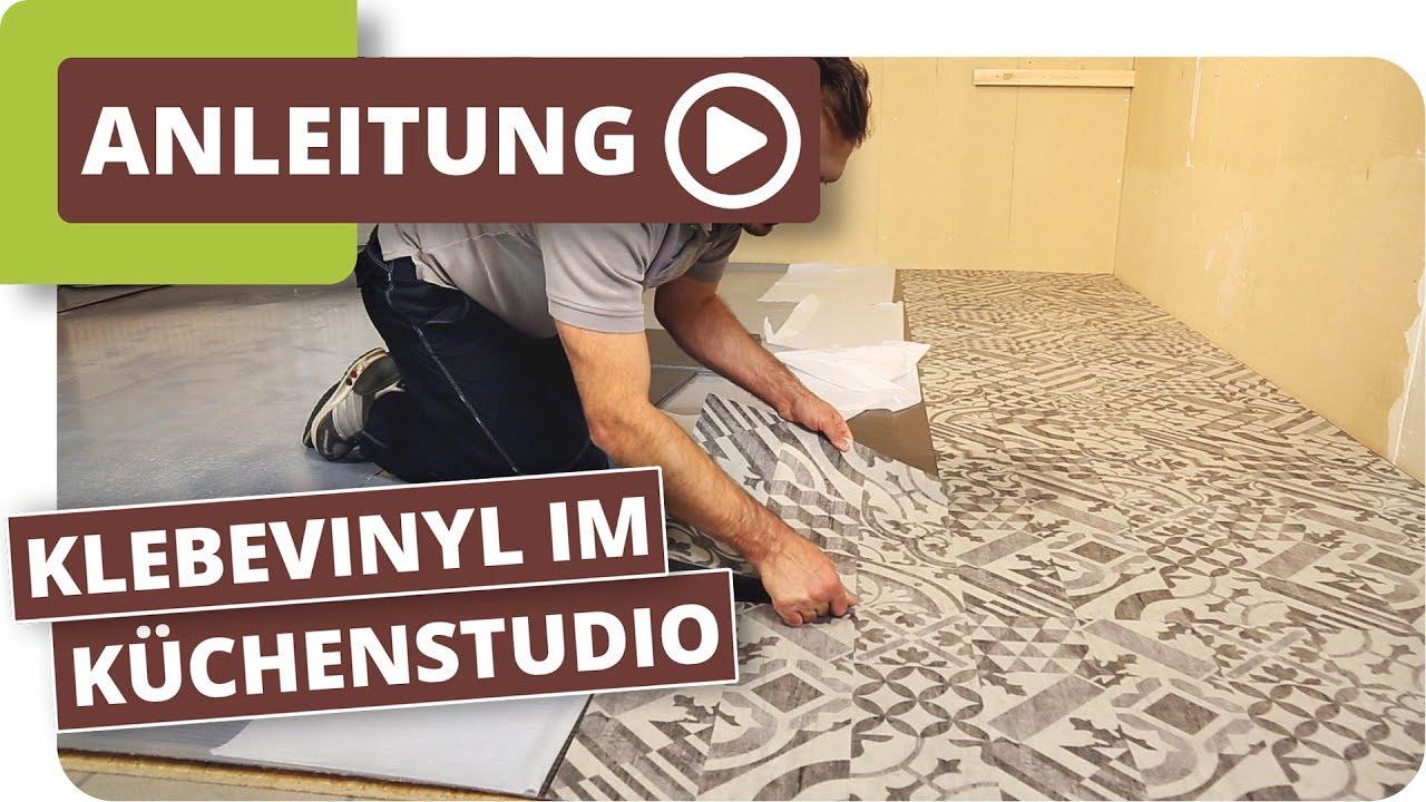 Klebevinyl im Küchenstudio - Bodenbeläge für den Objektbereich ...
